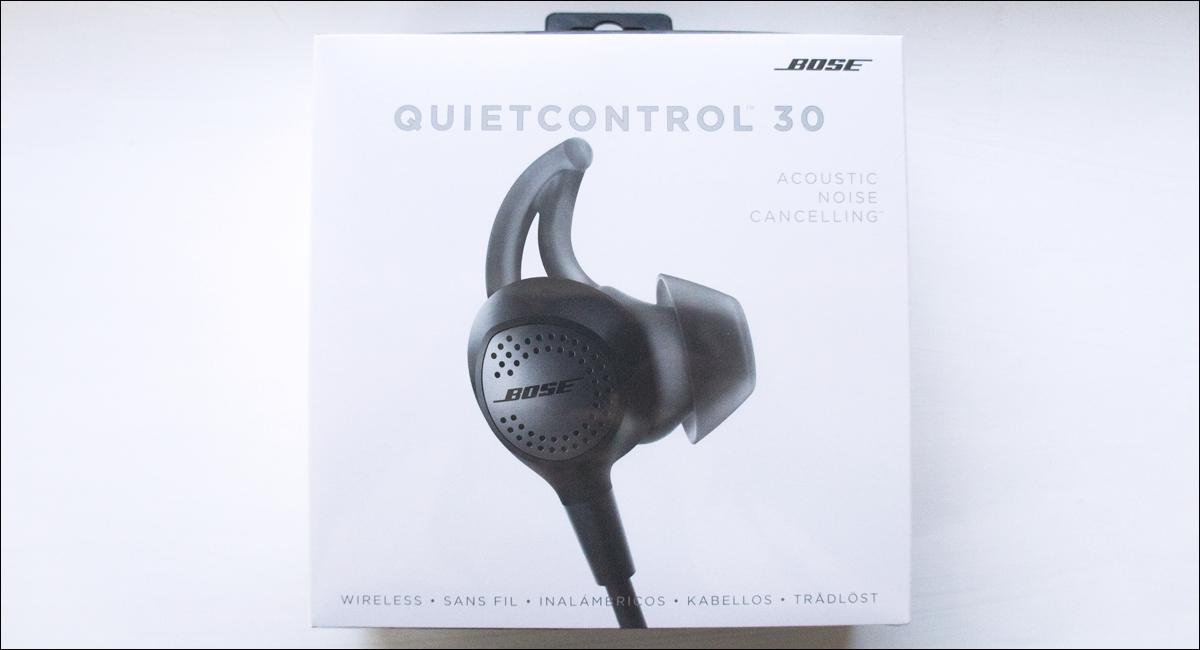 bose ワイヤレス ノイズキャンセリングイヤホン,QuietControl 30 wireless headphones